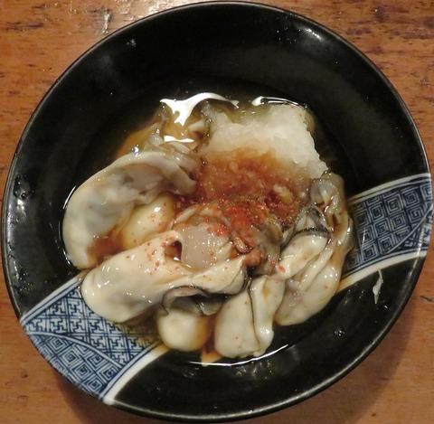 牡蠣酢(赤垣屋)