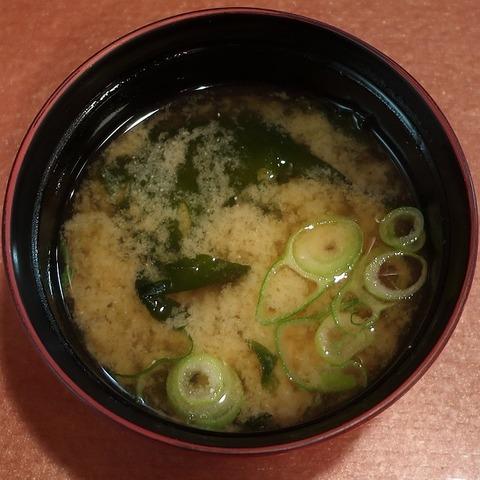 味噌汁(丼丼亭)