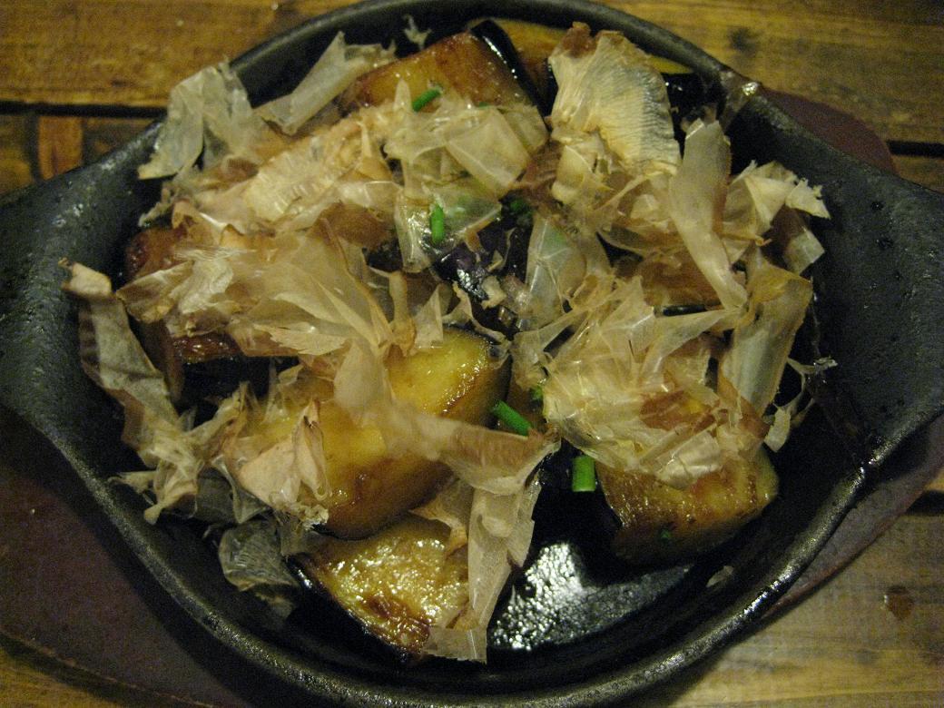 茄子生姜焼