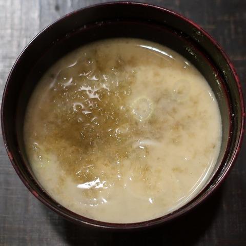 味噌汁(くろ川)