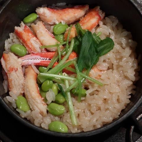 蟹釜飯(ゆう季)2052