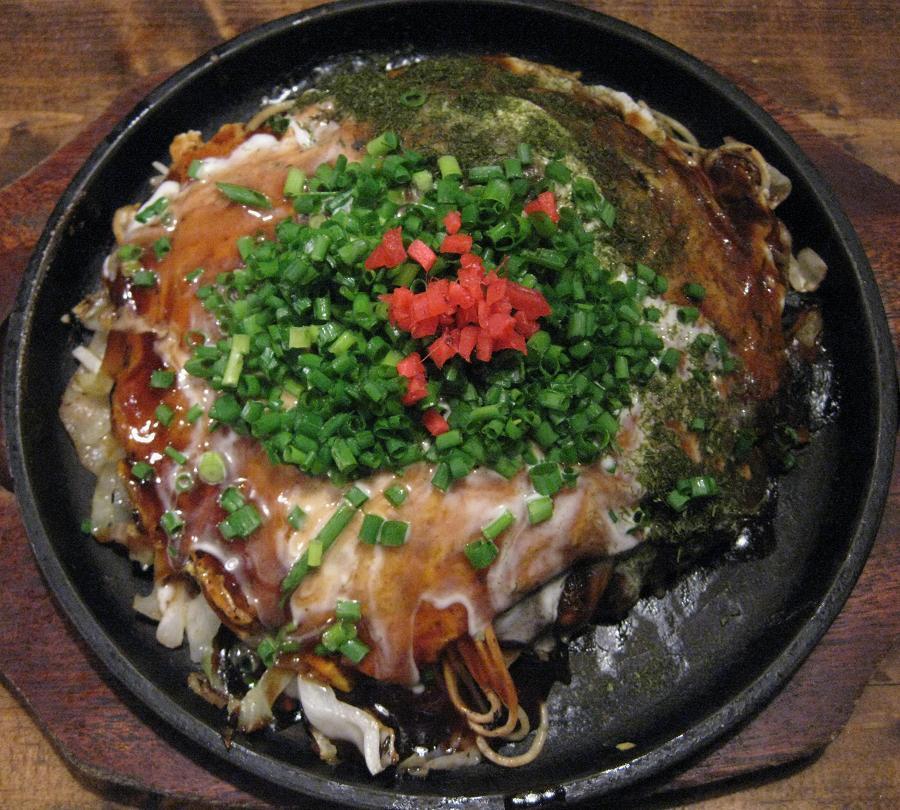 肉玉そば+イカ天