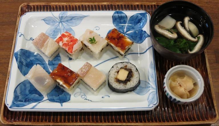 大阪寿司+吸物