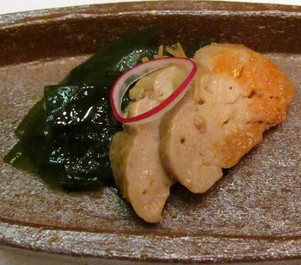 安肝生姜煮