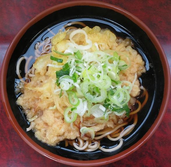天ぷらそば270円