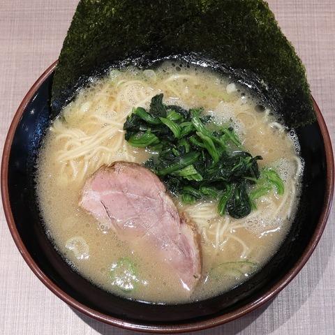豚骨醤油ラーメン(よし〇)650