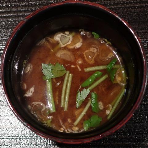 味噌汁(紋屋)
