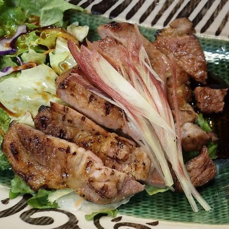 豚ロース肉焼(むら山)1300