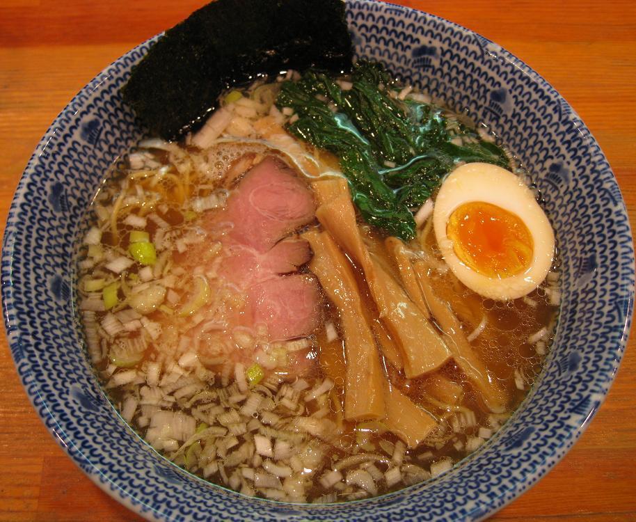 醤油らーめん・細麺