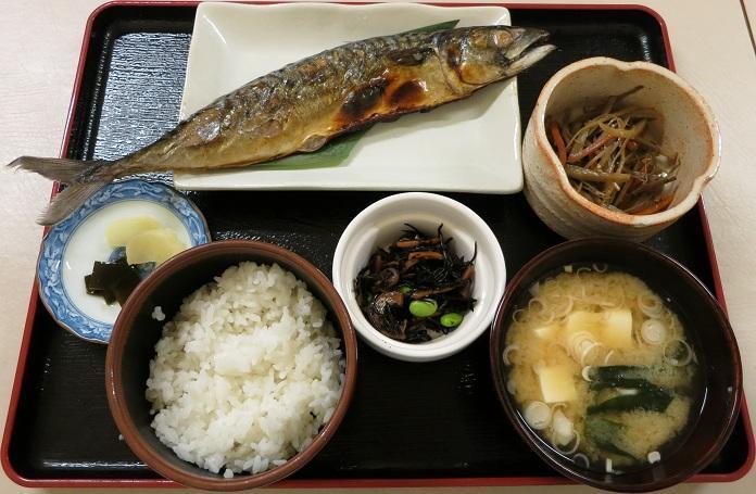 魚定食600円