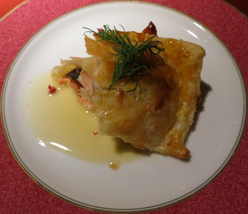 桜鯛パイ包み焼き