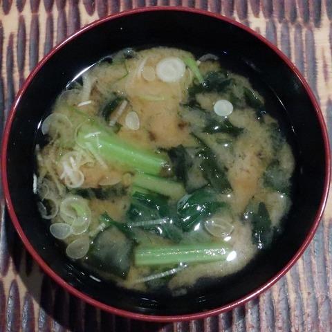味噌汁(奈美喜庵)