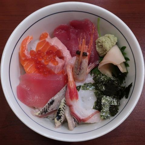 海鮮丼(銀次)1000