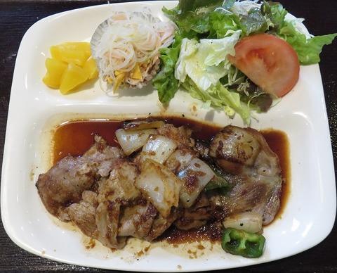 生姜焼定食(DonDon)850