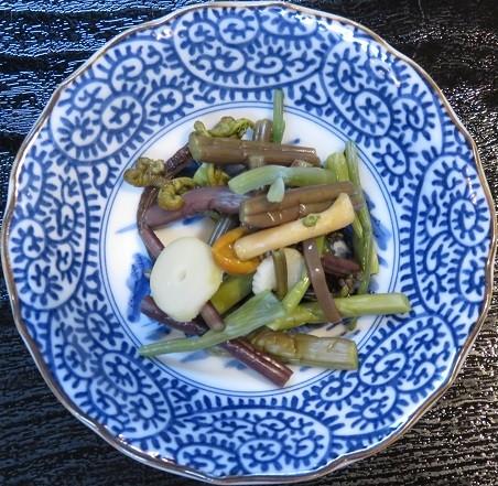山菜(三崎庵・天重)