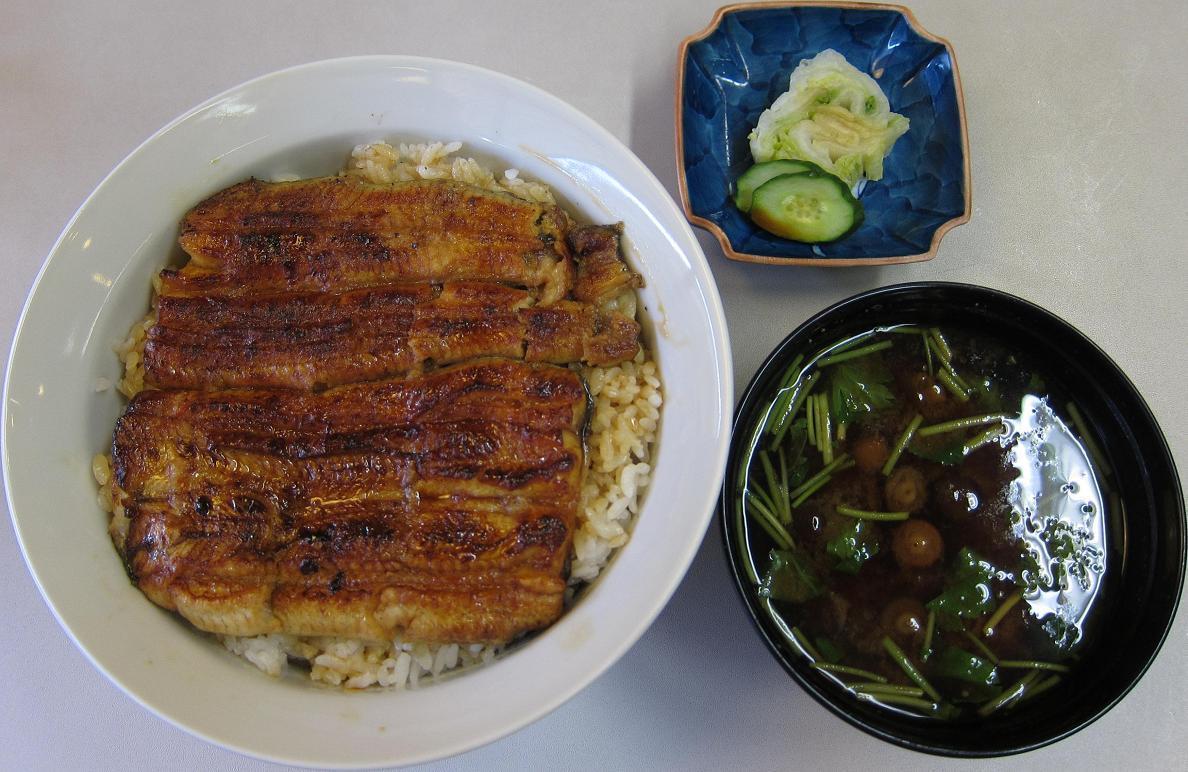 うな丼+赤出汁