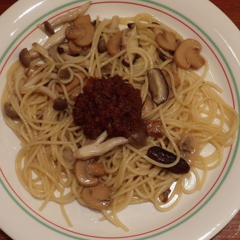 キノコスパゲティ(六本木)680