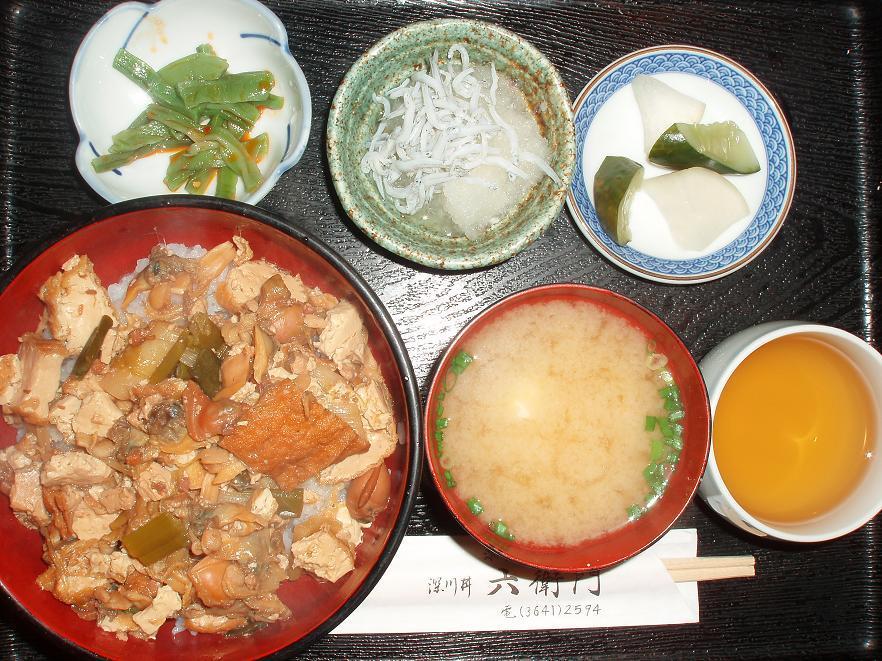 深川丼セット