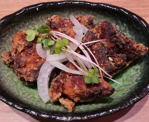鶏の塩麹唐揚げ(とろ麦)