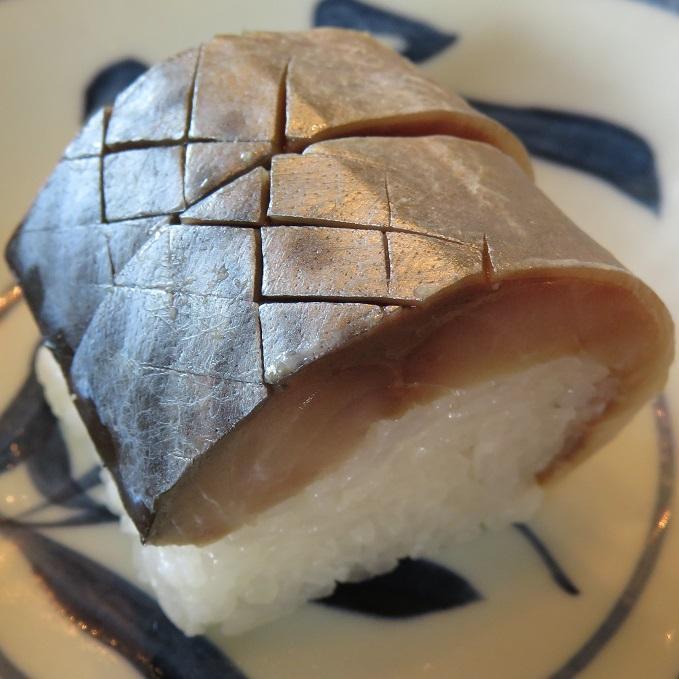 虎鯖棒寿司