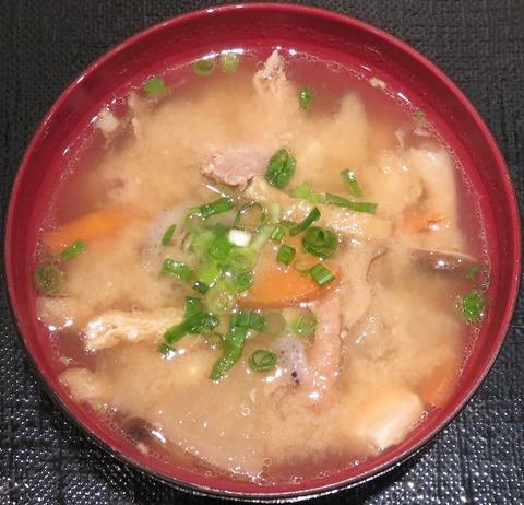 豚汁(権兵衛)200