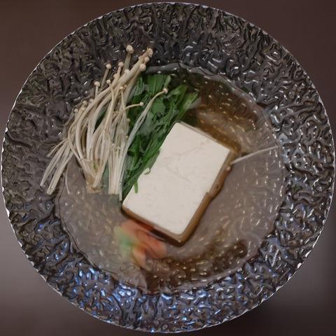 湯豆腐(雲海)
