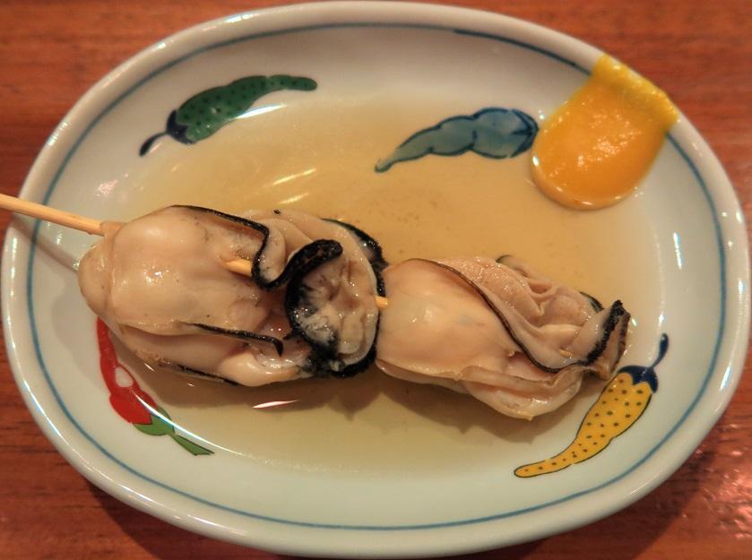 牡蠣のおでん