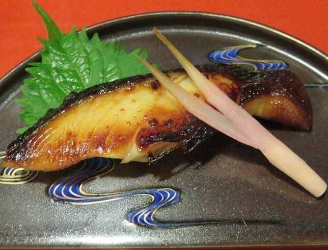 銀鱈西京焼