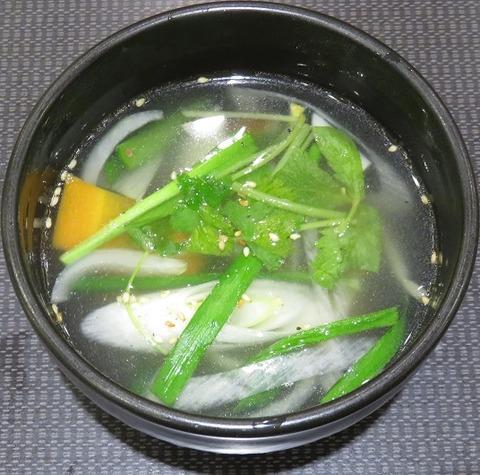 ミニ野菜スープ(東天閣)486