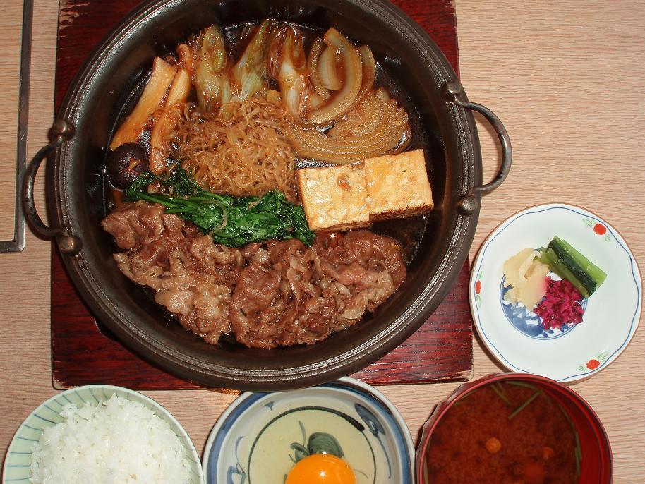 すきやき定食(ランチ)