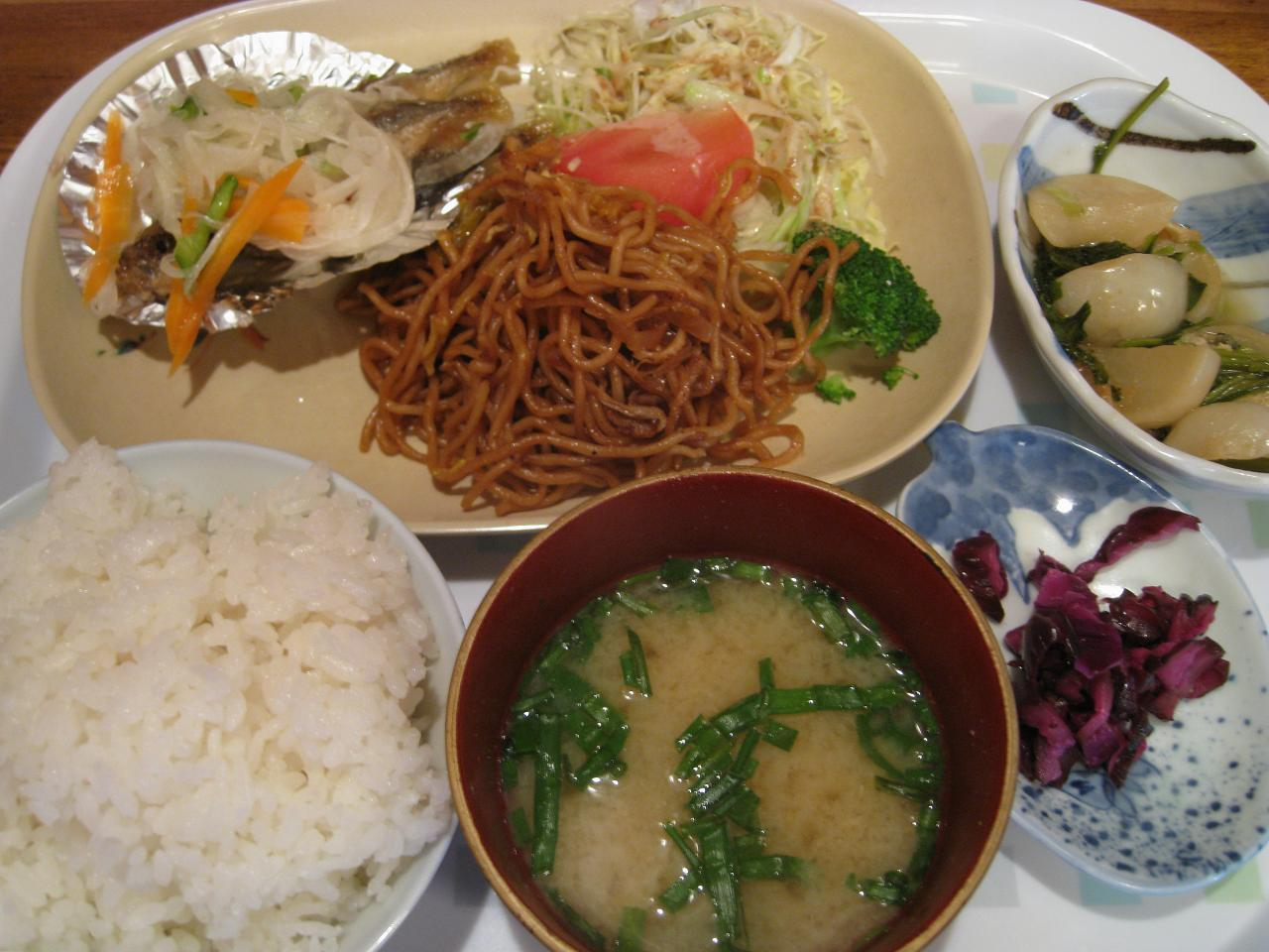 鯵南蛮漬定食