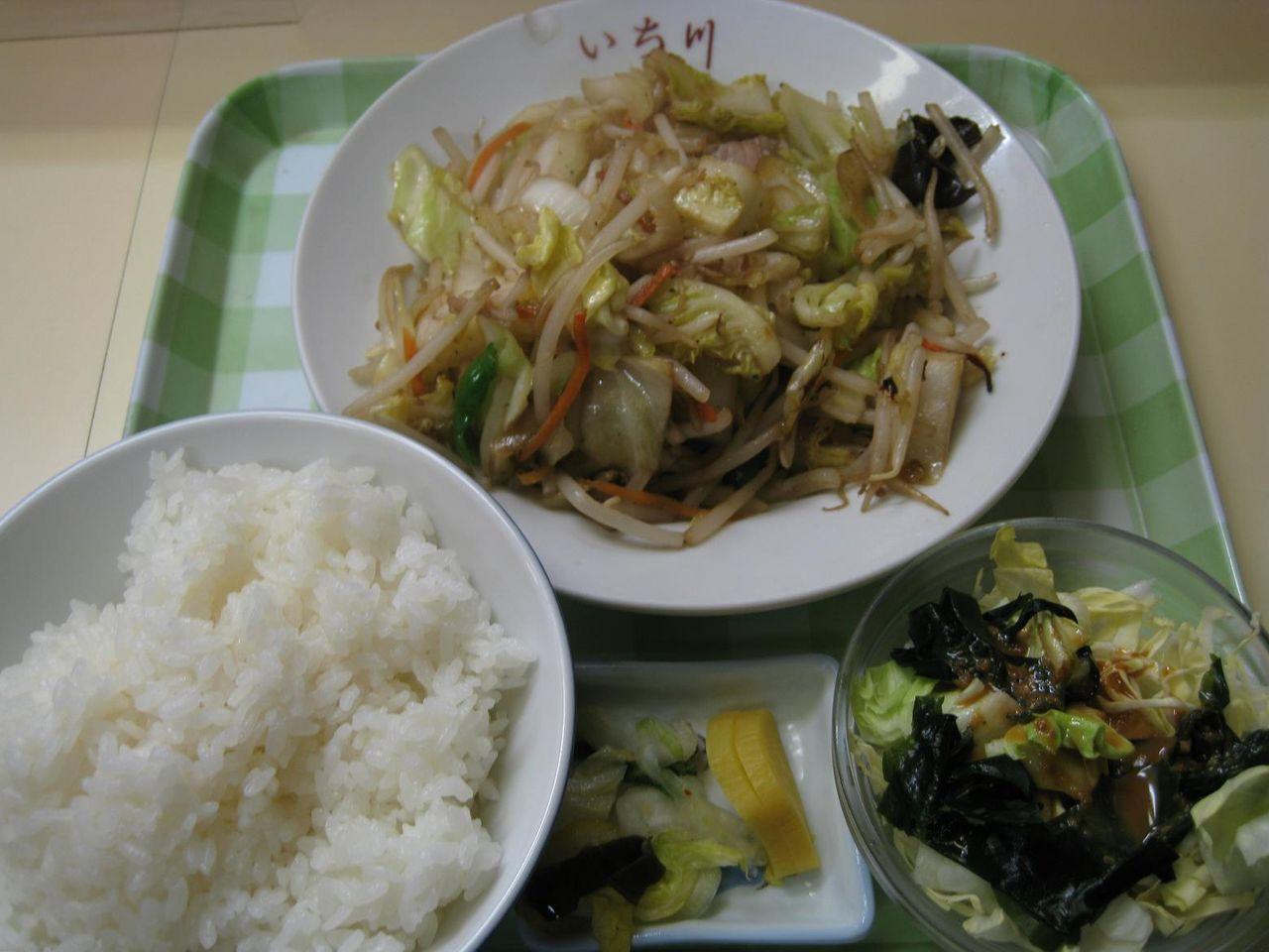 野菜炒ライス