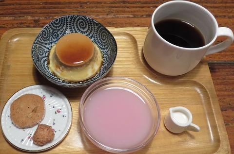 デザートセット(亜羅珈琲)580
