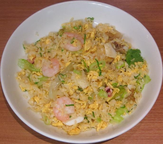海鮮炒飯アップ