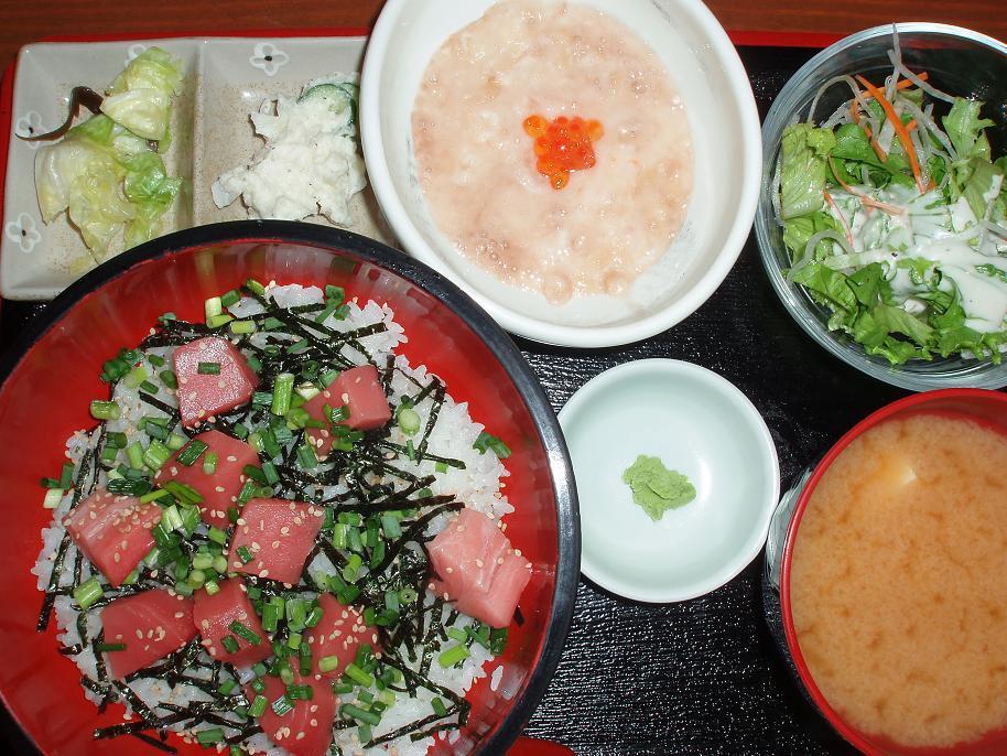 鮪山かけ丼(ランチ)