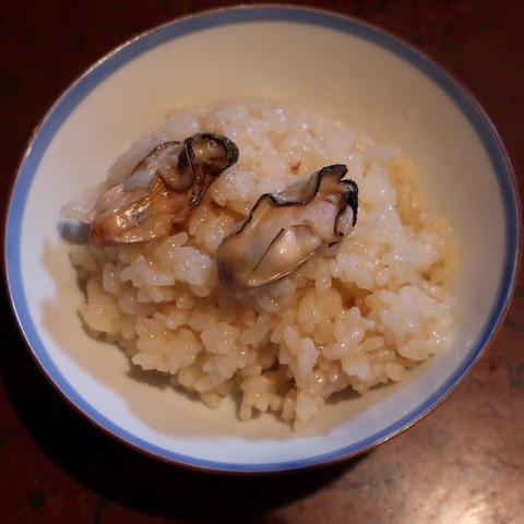 牡蠣釜飯①(波浮港)