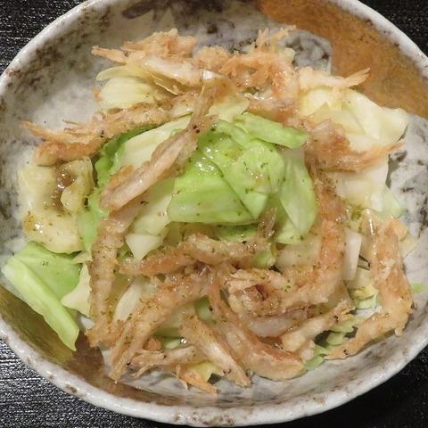 きゃべつ温サラダ(紋屋)864