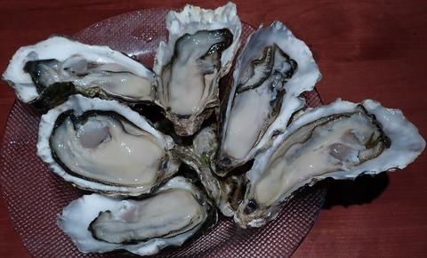 生牡蠣5種盛合せ(ゴシキ)3080