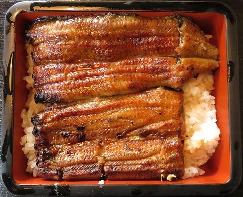 上鰻重(たなかや)3700