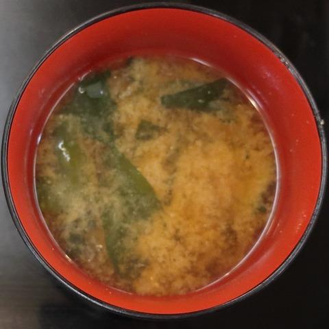 味噌汁(大菊)