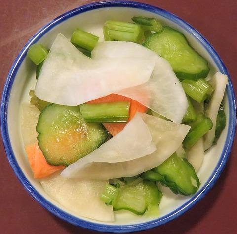 漬物(小美寿司)