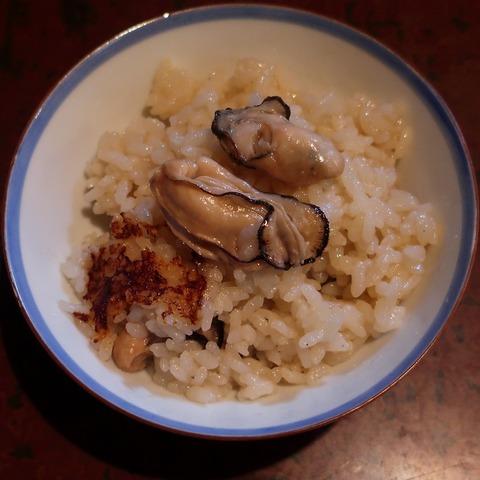 牡蠣釜飯②(波浮港)