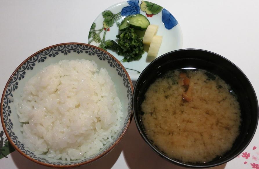御飯&味噌汁