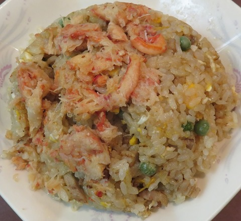 蟹粉炒飯(精華楼)890