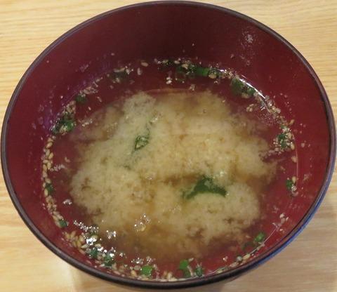味噌汁(だるま寿司)