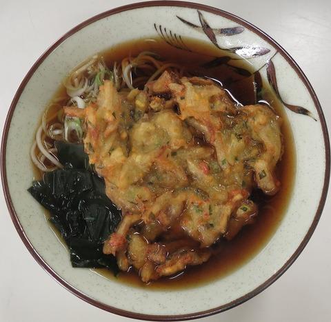 天ぷらそば(今井橋そば)300