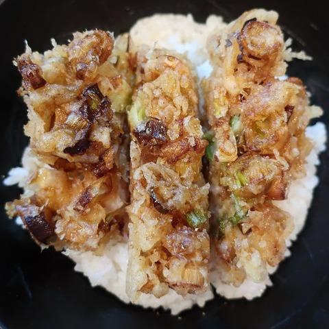 かき揚丼(むなかた)1300