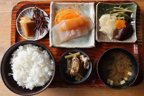 山菜定食(陣屋)1100