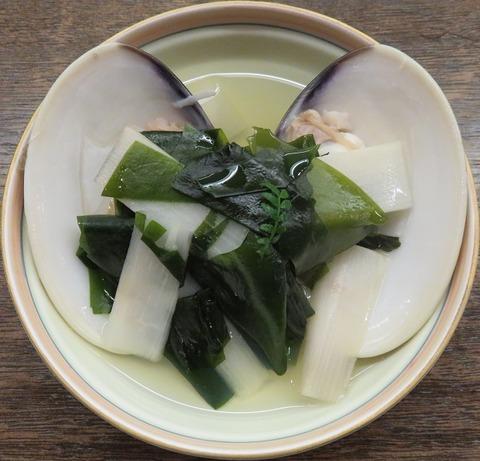 地蛤と三陸若布の潮煮(天乃川)1500