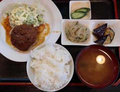 煮込みハンバーグ定食(清水)650